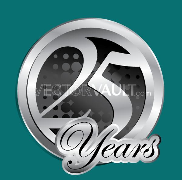 Vector25 Years Logo