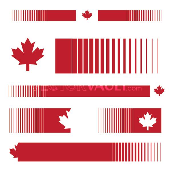 Vector Canadian Pride