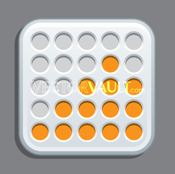 Vector Dot Matrix Logo