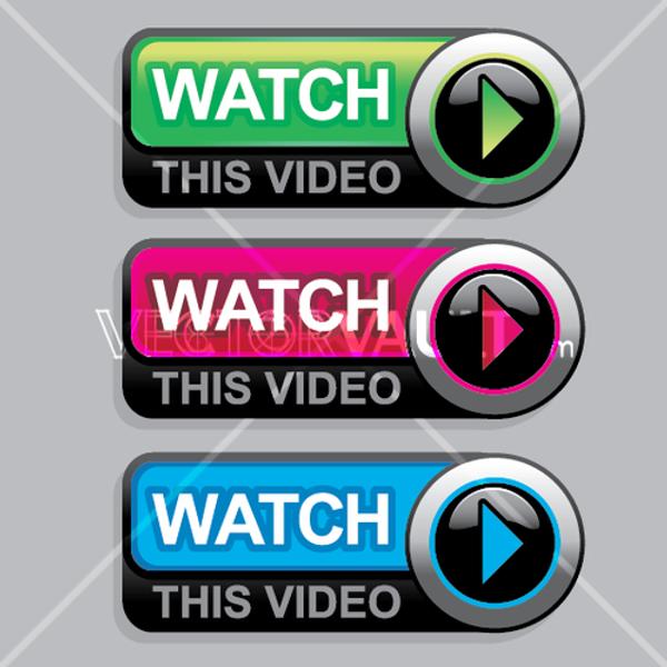 Vector Watch Video Button