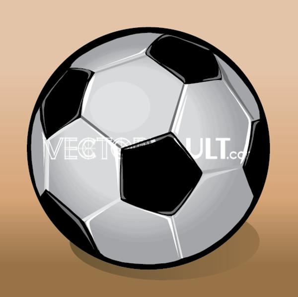Vector Soccer Ball Icon