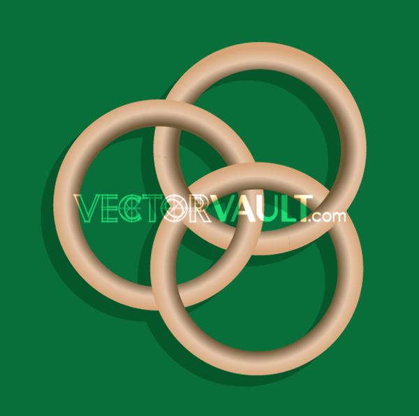 Vector Ring Trio Icon