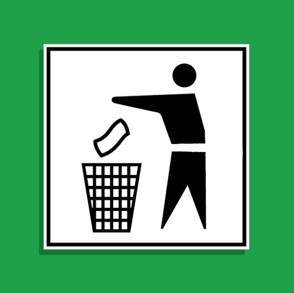 Vector Trash Litter Icon