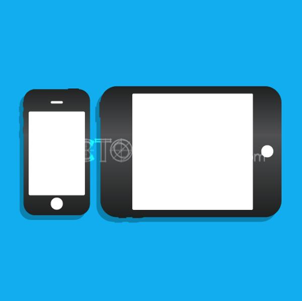 Vector iPhone iPad Icons