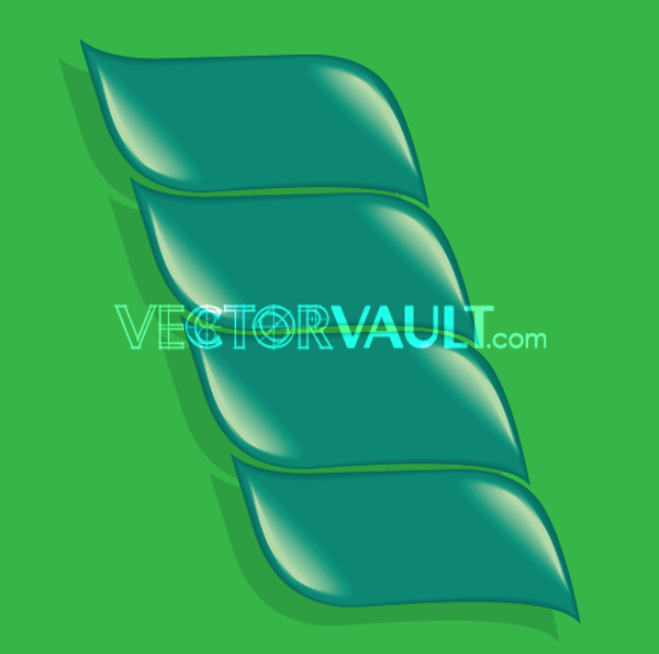 Vector Leaf Step Banners
