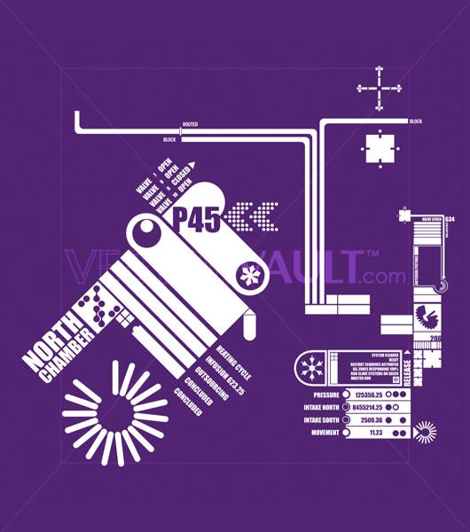 Buy Vector Data Information Technical Readout Text vectors