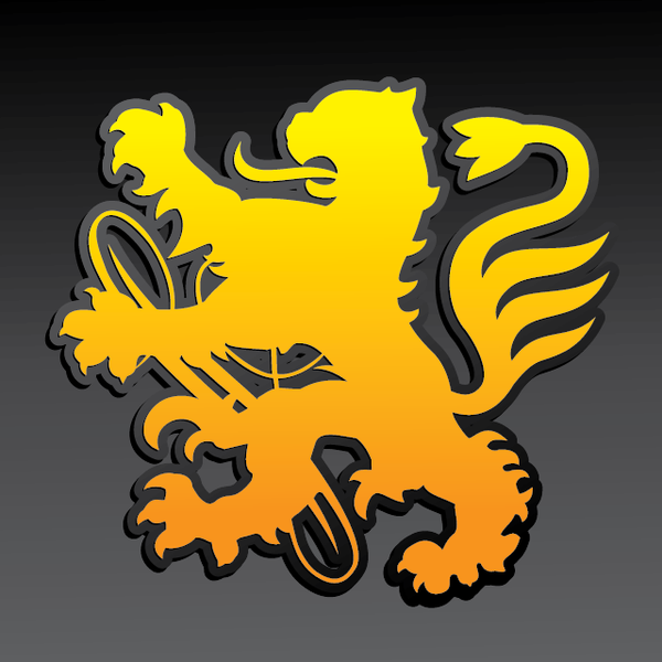 buy vector regal lion coat of arms icon graphic logo image