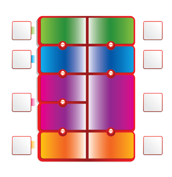 Buy Vector Multi-coloured Chart Graphic
