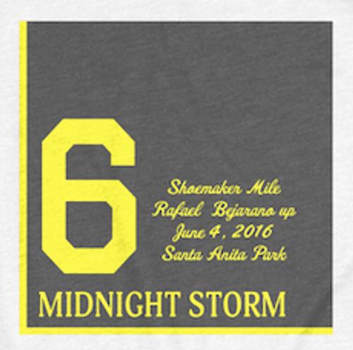 Midnight Storm 2016 Shoemaker Mile