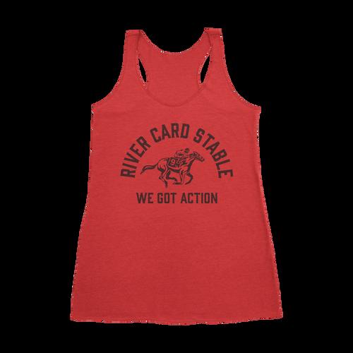Women's River Card Ride Racerback Tank