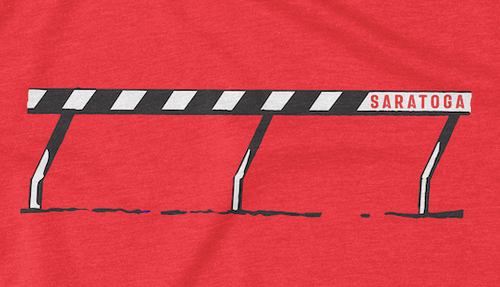 THE WIRE AT SARATOGA TEE