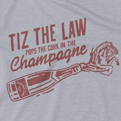 "TIZ ""POPS THE CORK"" TEE"