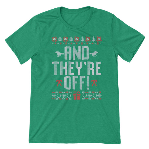 AND THEY'RE OFF HOLIDAY TEE