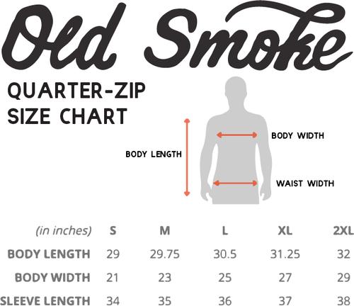 OLD SMOKE 1/4 ZIP