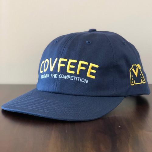 COVFEFE HAT (BLUE)