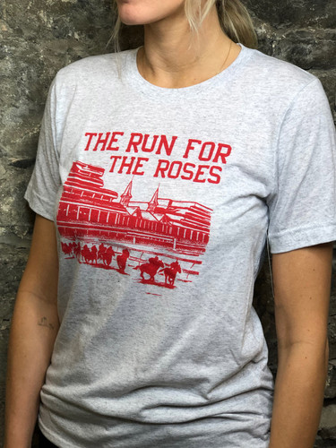 THE RUN FOR THE ROSES TURN ONE TEE