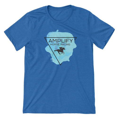 Amplify Racing Unisex T-Shirt - Heather Royal