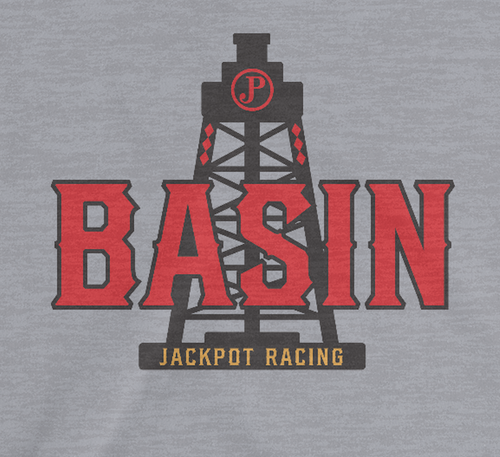 Basin Tee - JackPot Racing - Women's V-Neck