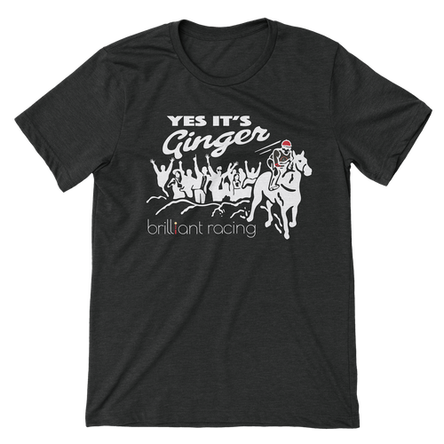 Yes It's Ginger (Charcoal/Black)
