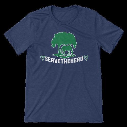 TRF SERVE THE HERD TEE - NAVY