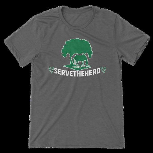 TRF SERVE THE HERD TEE - GREY