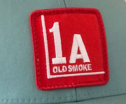Smoke Blue/White 1A PATCH Trucker (W)