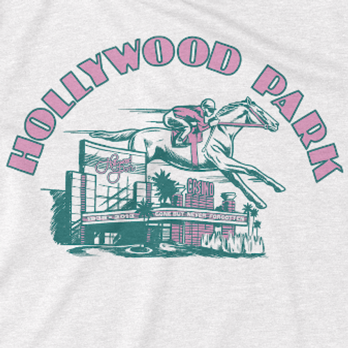 HOLLYWOOD PARK TRIBUTE TEE