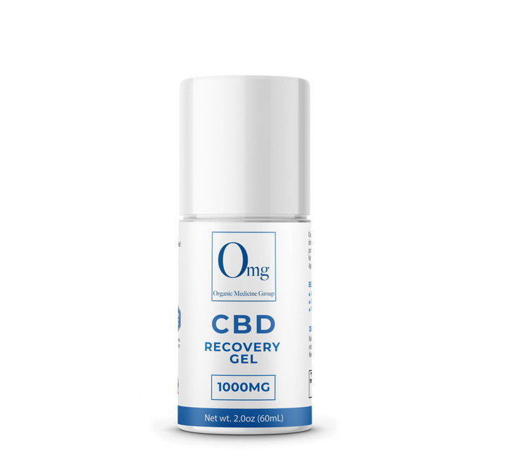 CBD Recovery Gel Roller – 1000 mg – 60 mL