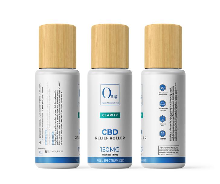 CBD Relief Roller Clarity – 150 mg – 15 mL
