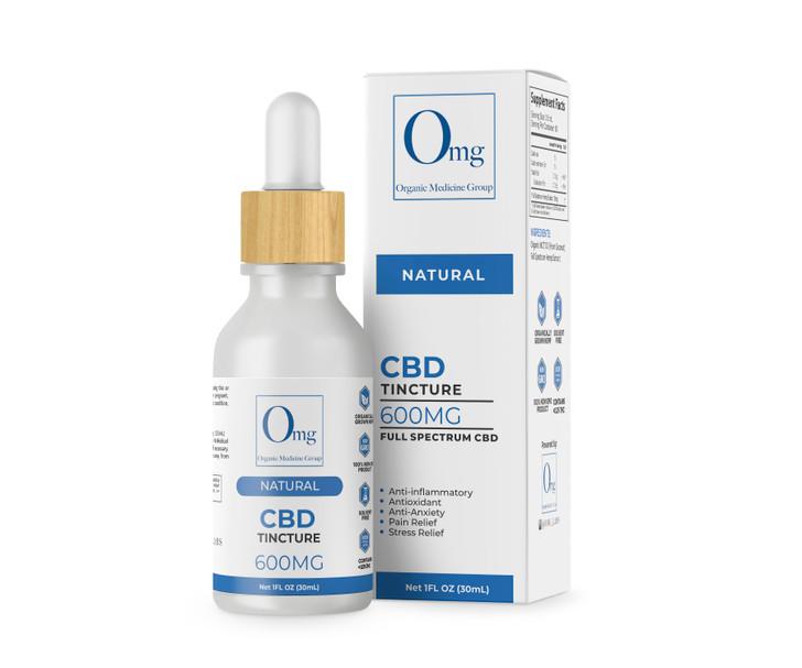 CBD Tincture Oil - 1200 mg – 30 mL
