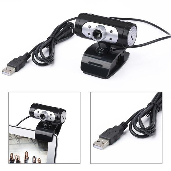 High Definition 1280*720 720p Pixel 4 LED HD Webcams