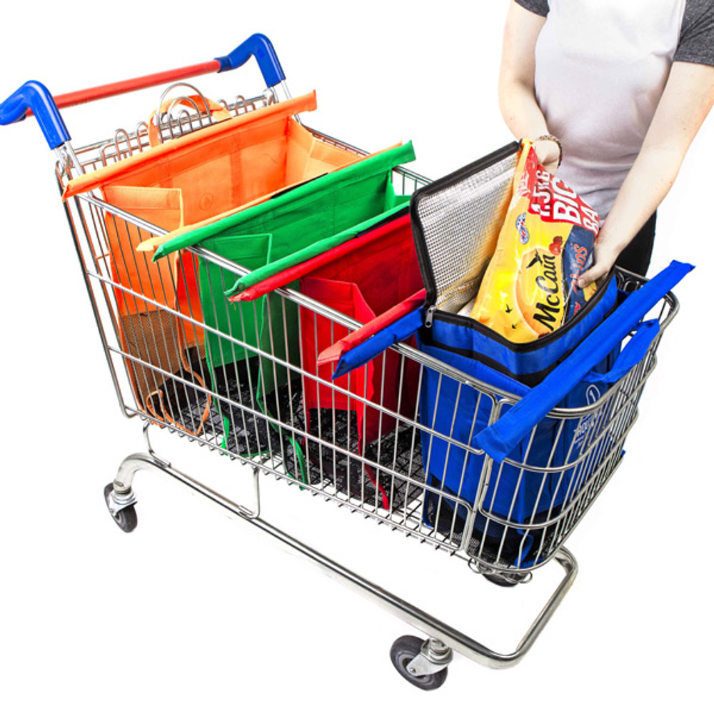 Trolley Bags teamed with the Original Cool mean you can transport all your frozen and cold items with ease.