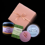 Create your own bath product gift box
