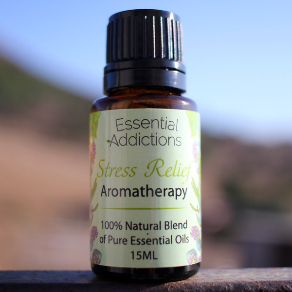 Stress Relief Aromatherapy Essential Oil Blend