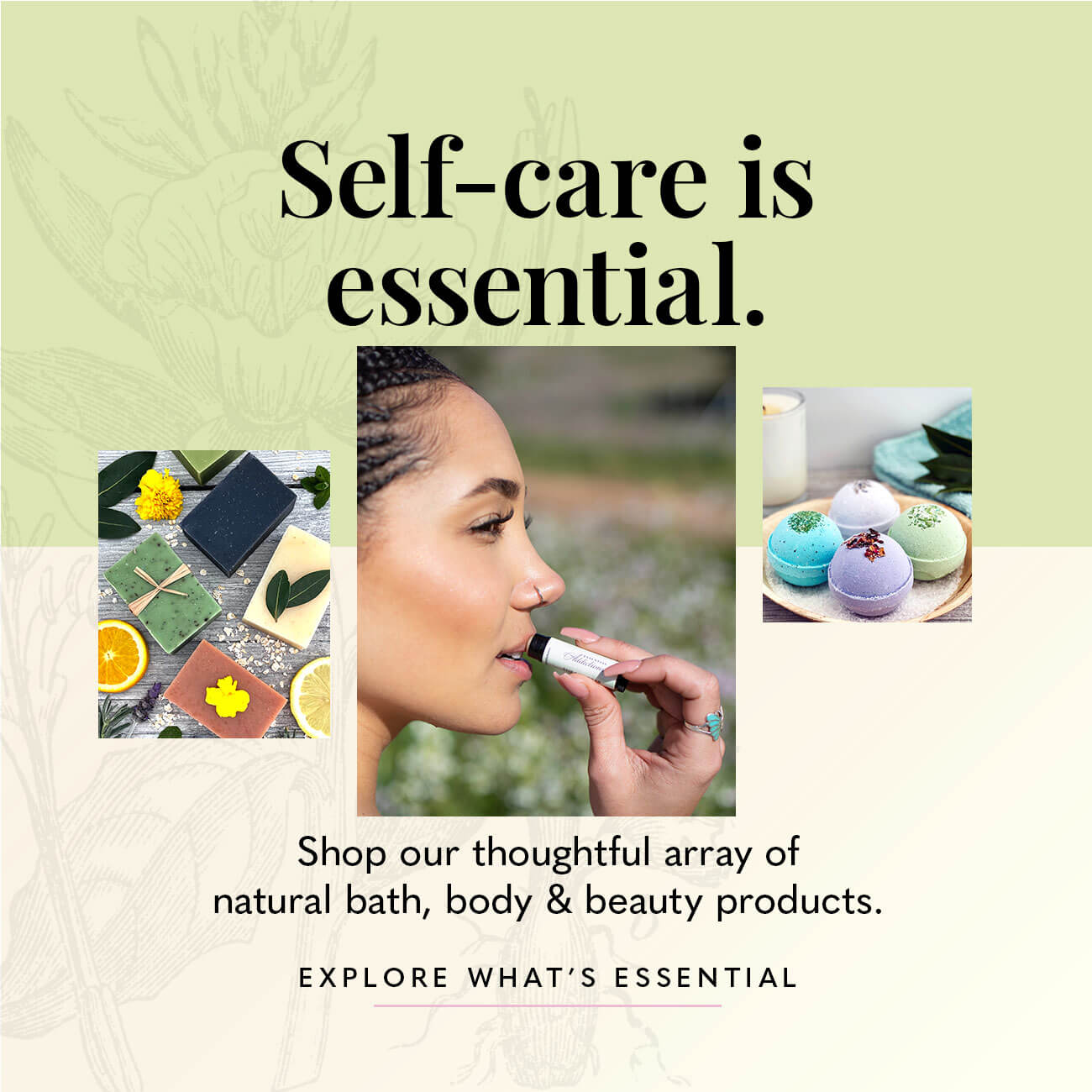 Self-care is essential.