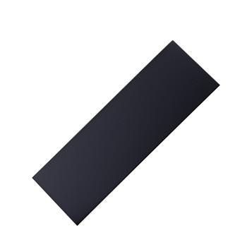 Black on brass engraving plate