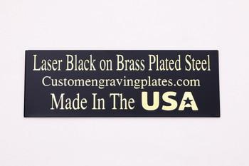 gold letter laser engraving plates