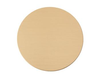 brass blank disc