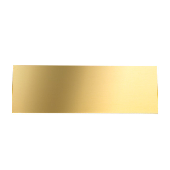 solid brass engraving plate