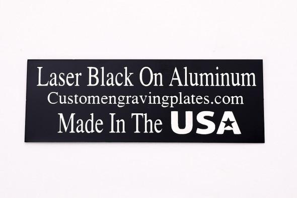black laser engraving plates