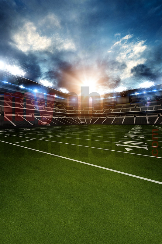 DIGITAL BACKGROUND - FOOTBALL  STADIUM II