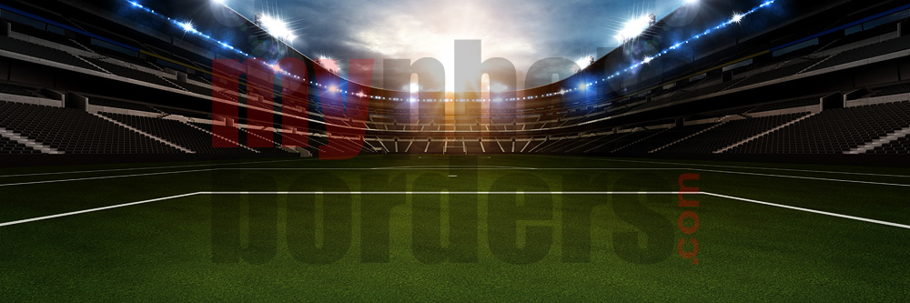 DIGITAL BACKGROUND - SOCCER STADIUM II - PANORAMIC