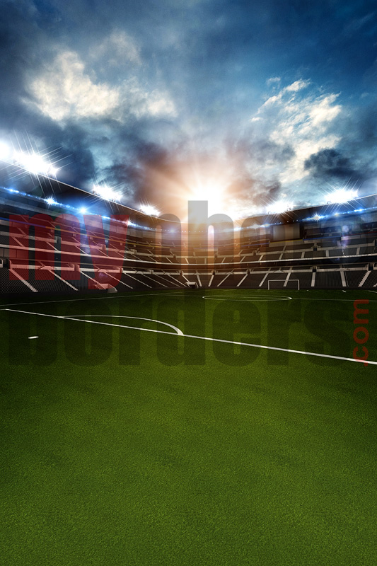 DIGITAL BACKGROUND - SOCCER  STADIUM III