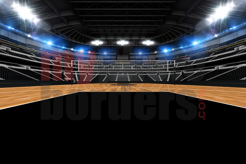 DIGITAL BACKGROUND - VOLLEYBALL STADIUM II - HORIZONTAL