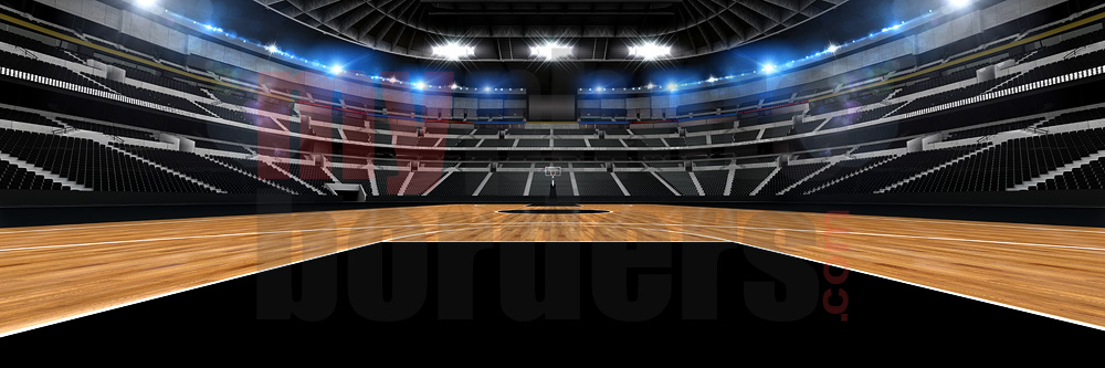 DIGITAL BACKGROUND - BASKETBALL STADIUM II - PANORAMIC