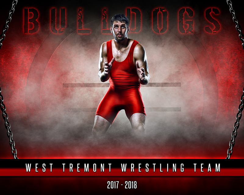 sports poster photo template fantasy wrestling photoshop sports