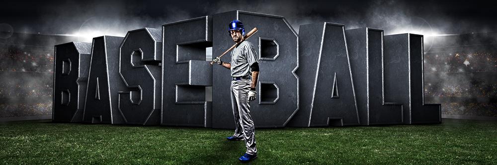 8'x4' banner templates | baseball banner, baseball team pictures.