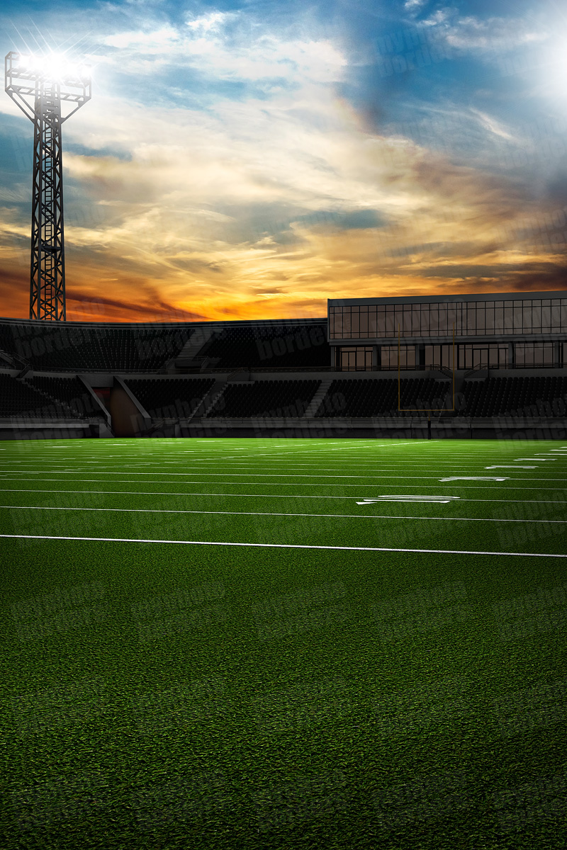 DIGITAL BACKGROUND - HOME FIELD - FOOTBALL