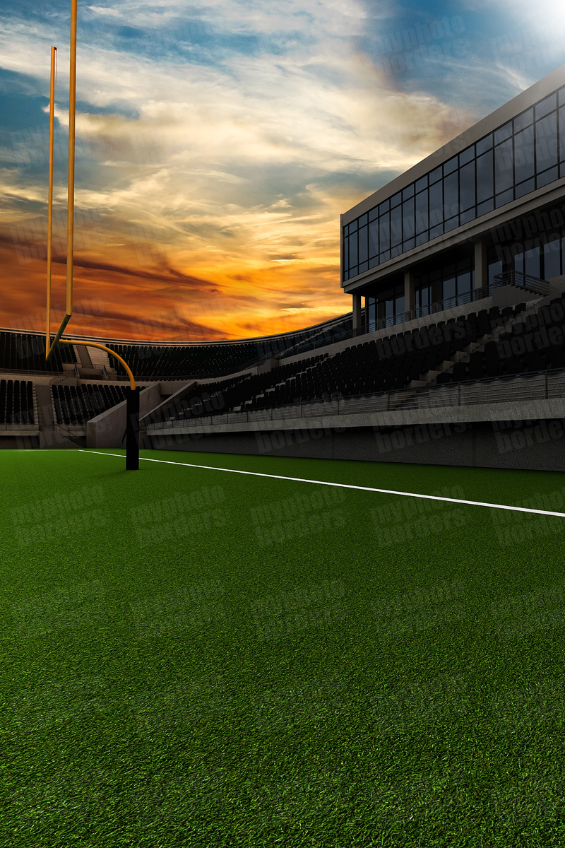 DIGITAL BACKGROUND - HOME FIELD - FOOTBALL II
