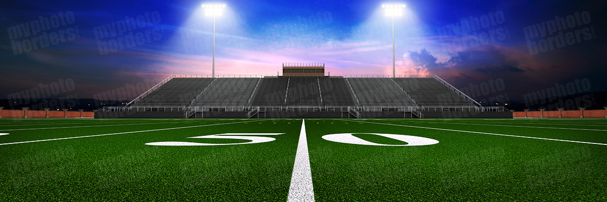 DIGITAL BACKGROUND - HOME TURF - FOOTBALL - PANORAMIC